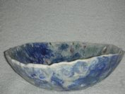 close up shell bowlside view