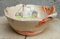 e/w small bowl with caravans