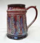 Tankard stoneware reduction fired